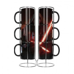 3 Tasse Star Wars Kylo Ren Empilables