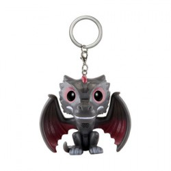 Pop Pocket Keychains Game of Thrones Drogon