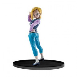 Dragonball Super SCultures Figure Big Budoukai Android 18