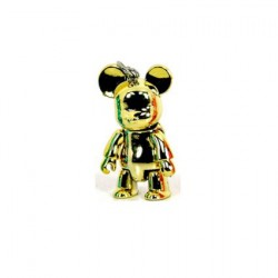 Qee mini Bear Metallic : Or