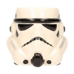 Star Wars Stormtrooper Head 3D Ceramic Mug