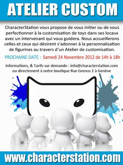 Lapin Cretin x CharacterStation