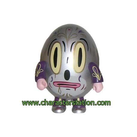 Figurine Qee Hump Qee Dump Argent par Gary Baseman Toy2R Boutique Geneve Suisse