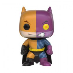 Figurine Pop Batman as Two-Face Impopster (Vaulted) Funko Boutique Geneve Suisse