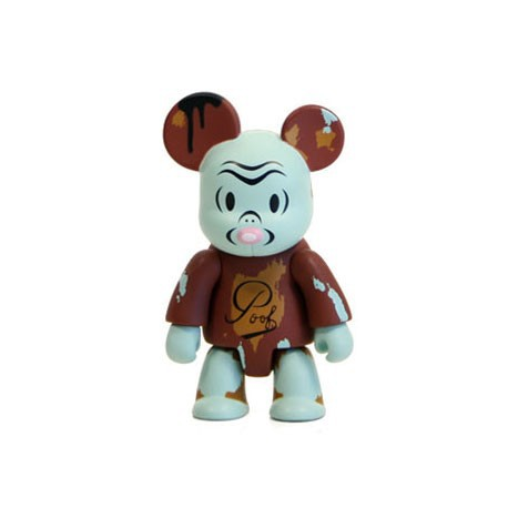 Figurine Qee OXOP 3 Poof par Gary Taxali Toy2R Boutique Geneve Suisse