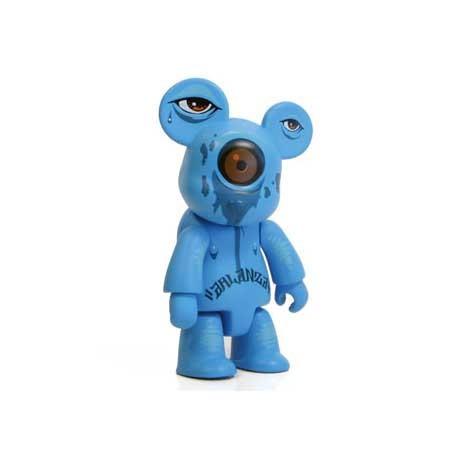 Figurine Qee OXOP 3 Blue Crier par Jeff Soto Toy2R Boutique Geneve Suisse