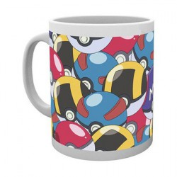 Pokemon Ball Mug