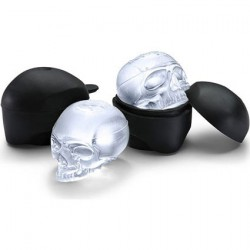Figuren Totenkopf Eiswürfel Behälter (2 Stücks) Think Geek Genf Shop Schweiz