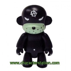 Qee Kozik Anarchy Monkey Black von Kozik