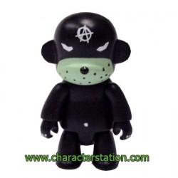 Qee Kozik Anarchy Monkey Black von Kozik