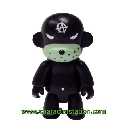 Figuren Qee Kozik Anarchy Monkey Black von Kozik Toy2R Genf Shop Schweiz