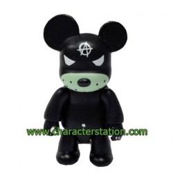 Qee Kozik Anarchy Bear Black von Kozik