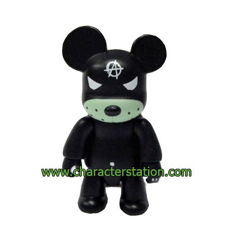 Figur Qee Kozik Anarchy Bear Black by Kozik Toy2R Geneva Store Switzerland