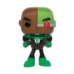 Pop DC Teen Titans Go Cyborg As Green Lantern Limited Edition