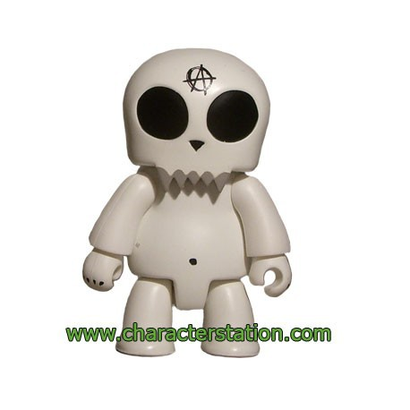 Figur Qee Kozik Anarchy Toyer Blanc by Kozik Toy2R Geneva Store Switzerland