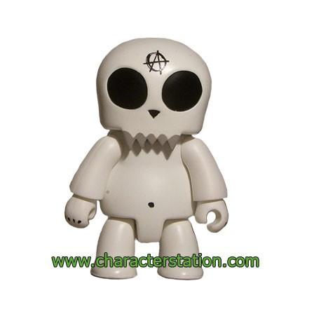 Figurine Qee Kozik Anarchy Toyer Blanc par Kozik Toy2R Boutique Geneve Suisse