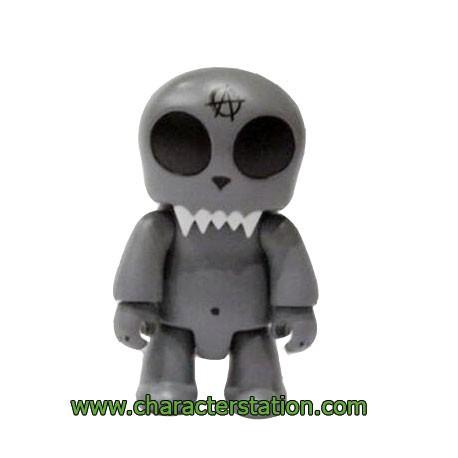 Figurine Qee Kozik Anarchy Toyer Gris par Kozik Toy2R Boutique Geneve Suisse