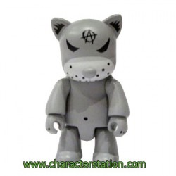 Qee Kozik Anarchy Cat Gris by Kozik