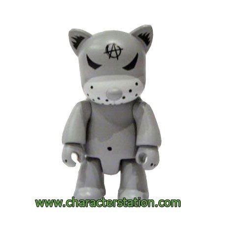 Figur Qee Kozik Anarchy Cat Gris by Kozik Toy2R Geneva Store Switzerland