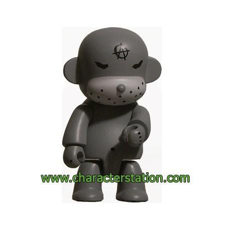 Figurine Qee Kozik Anarchy Monkey Gris par Kozik Toy2R Boutique Geneve Suisse
