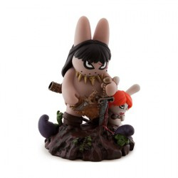Figuren Frazetta Labbit the Barbarian von Frank Kozik Kidrobot Genf Shop Schweiz