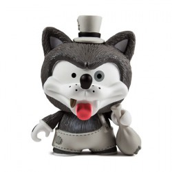 Figurine Kidrobot Willy the Wolf par Shiffa Kidrobot Designer Toys Geneve
