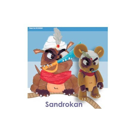 Figur Qee Sandrokan by Luisa Via Roma Toy2R Geneva Store Switzerland