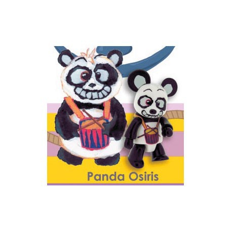 Figur Qee Panda Osiris by Luisa Via Roma Toy2R Geneva Store Switzerland