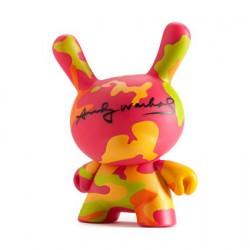 Figur Dunny Neon Camo by Andy Warhol x Kidrobot Kidrobot Geneva Store Switzerland