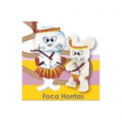 Figurine Qee Foca Hontas par Luisa Via Roma Toy2R Boutique Geneve Suisse