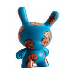 Figurine Dunny Dollar Signs par Andy Warhol x Kidrobot Kidrobot Boutique Geneve Suisse
