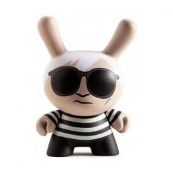 Figurine Dunny Andy Warhol Black Variant par Andy Warhol x Kidrobot Kidrobot Boutique Geneve Suisse