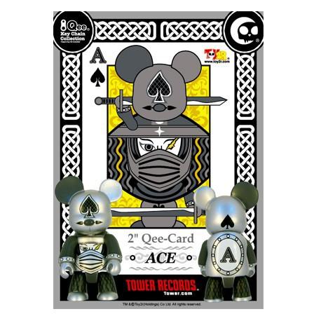 Figurine Qee Card ACE Toy2R Qee Geneve