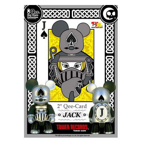 Figur Qee Card JACK Toy2R Geneva Store Switzerland