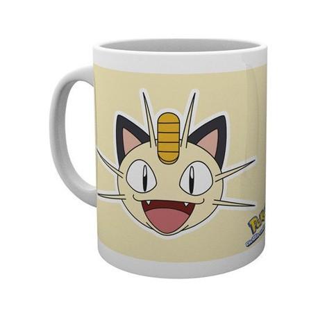 Figur Pokemon Meowth Face Mug Hole in the Wall Geneva Store Switzerland