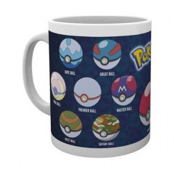 Tasse Pokemon Ball Varieties