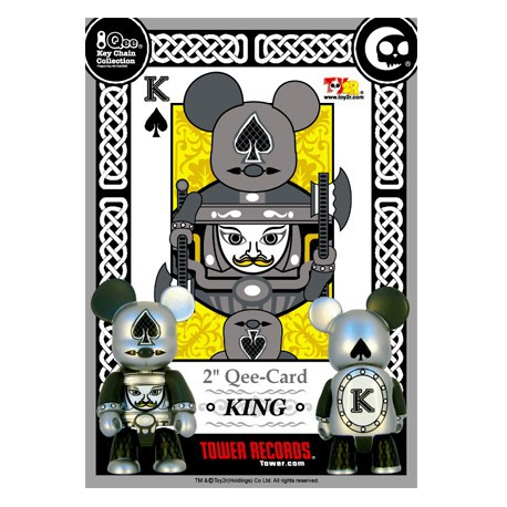 Figur Qee Card KING Toy2R Geneva Store Switzerland