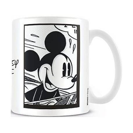 Figuren Tasse Disney Mickey Mouse Frame Hole in the Wall Genf Shop Schweiz