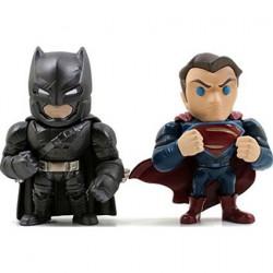 Metals DC Comics Armored Batman Vs. Superman 2-Pack