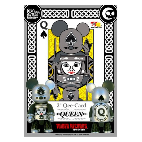Figurine Qee Card QUEEN Toy2R Boutique Geneve Suisse
