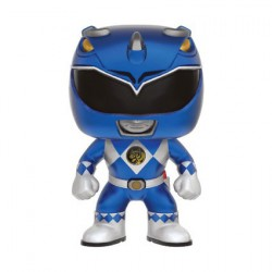 Figur Pop Metallic Power Rangers Blue Ranger Limited Edition Funko Geneva Store Switzerland