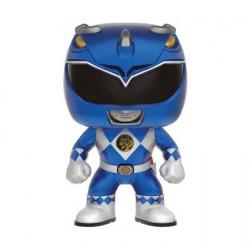 Figurine Pop Metallic Power Rangers Blue Ranger Edition Limitée Funko Boutique Geneve Suisse