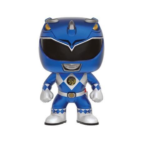 Blue Ranger Pocket pop PORTACHIAVI UFFICIALE POWER RANGERS Funko Pop Vinile Portachiavi