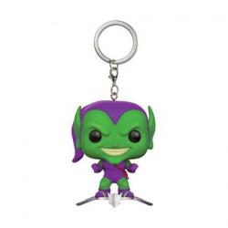 Figuren Pocket Pop Schlüsselanhänger Marvel Green Goblin on Glider Limitierte Auflage Funko Genf Shop Schweiz