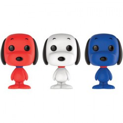 Figurine Pop Minis Peanuts Rock The Vote Snoopy 3 Pack Edition Limitée Funko Boutique Geneve Suisse