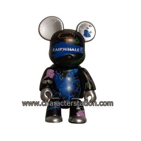 Figur Qee Fairwhale Bear by Mark Fairwhale Toy2R Geneva Store Switzerland