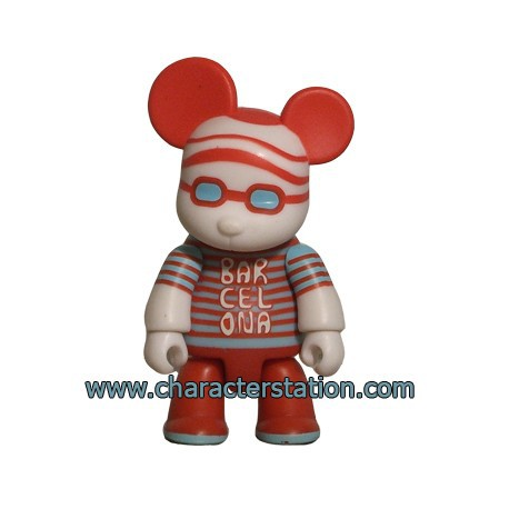 Figurine Qee Barcelona Bear par Pepa Reverter Toy2R Boutique Geneve Suisse