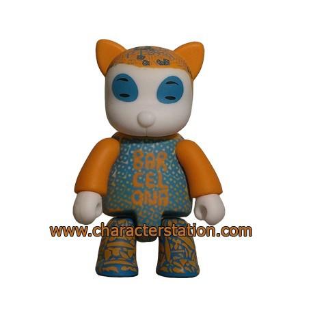 Figurine Qee Barcelona Cat par Pepa Reverter Toy2R Boutique Geneve Suisse