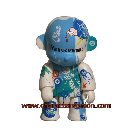Figur Qee Fairwhale Monkey by Mark Fairwhale Toy2R Geneva Store Switzerland