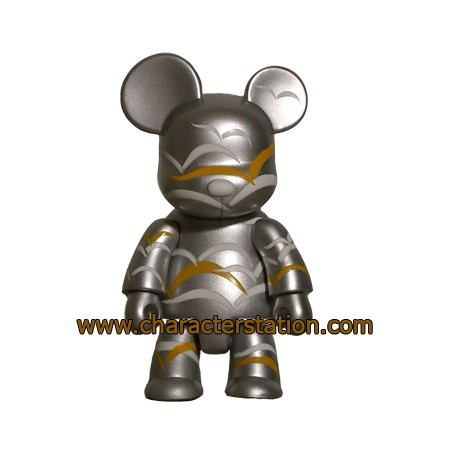 Figur Qee HK Design Gallery Silver Toy2R Geneva Store Switzerland